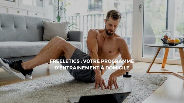 Suivre un programme d'entrainement sportif en restant chez soi