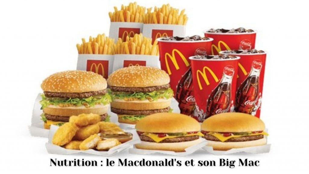 Macdonald's et son Big Mac